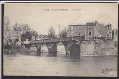 Saint Mihiel-Le Pont-The Bridge-Antique Postcard | eBay