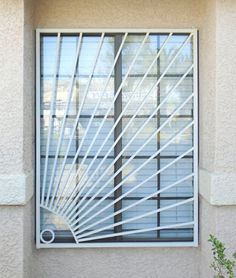Iron Window Grill, Window Grill Design Modern, Balcony Grill Design, Grill Door Design, Roof Design, Fence Design, Steel Gate Design, House Gate Design, Iron Windows