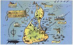 Block Island Tourist Map 136 Best Block Island images in 2016 | Island, Block island, Islands