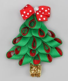 christmas tree bows | Christmas Tree bow | Hairbows