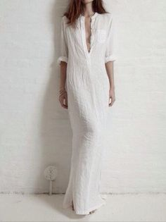 f52720db070 Kat get this Solid Color Split-side Stand Collar Maxi Dress