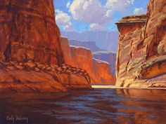 Grand Canyon Painting - Canyon Colors by Cody DeLong