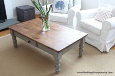 I'm so excited to share this little coffee table makeover with you today! French Linen Coffee Table (After) After finishing up on Colleen's Paris Grey dining room chairs, she asked if I could freshen up her coffee table. There was nothing wrong with the table, but she wasn't loving the green anymore. Coffee Table (Before) …