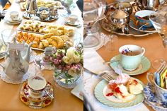 Afternoon tea by 'A Vintage Affair' (teaware hire - Melbourne)