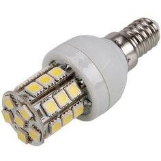 E14 110V 5W 6000K 27 LED SMD 5050 White Light Corn Lamp by Crazy Cart. $1.60. Features: 1. Ultra energy efficient replacement of standard lamp 2. LED light bulb features low power consumption 3. No mercury, No UV, infrared or other deleterious radiation 4. The Light Bulb provide bright and soft 6000K light  5. This LED light bulb is brighter than normal bulbs 6. Features up to 50000hours service time design, which enough to your daily use  7. Widely used as do...
