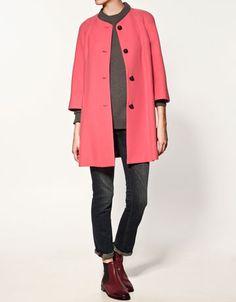 Evase Coat Zara