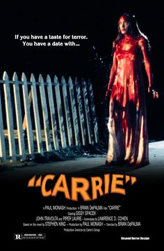 Carrie is the story of a socially outcast teenage girl named Carrie White who discovers she possesses latent psionic power which seems to flare up when she becomes angry or otherwise distressed. Description from thedigitalpurgatory.wordpress.com. I searched for this on bing.com/images