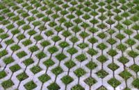 Turfstone concrete grid pavers are a series from Calstone that offers the beauty of a lawn with the structural performance of pavement. Turfstone allows for water permeability and eliminates storm water runoff.