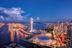 skyrise miami observation tower The best imagens from Miami, Miami Beach, Miami Bay..