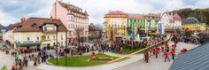 Viele Fotos vom heutigen Maibaum aufstellen in Mariazell.