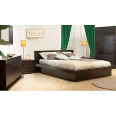 Platform Bed by Zurich - Platform Bed Frames - Bedroom
