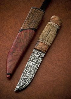 andre andersson knives   André Andersson Custom Damascus Knives - Knives, Daggers, Swords and ...