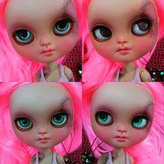 Guarda questo articolo nel mio negozio Etsy https://www.etsy.com/listing/461195834/maxine-ooak-customized-icy-doll