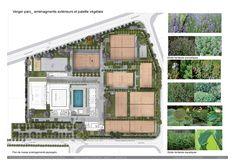 Image 23 of 23 from gallery of Wifaq Sport Center / Architectes. Landscape Diagram, Landscape Plans, Landscape Design, Wellbeing Centre, Clubhouse Design, Elderly Home, Sports Complex, Architecture Plan, At Home Gym