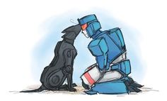 Soundwave and Ravage