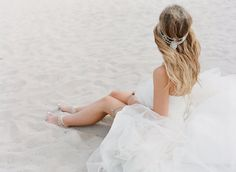 www.nadiahungphotography.com // bohemian bride // bo and luca head piece // forever soles anklets