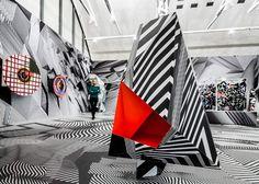 "Juxtapoz Magazine - Tobias Rehberger ""Home and Away and Outside"" @ Schirn Kunsthalle Frankfurt"