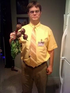 dwight schrute the office halloween costume lol the