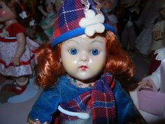 VINTAGE VOGUE GINNY DOLL SCOTCH FROLICKING FABLES TOSCA HAIR SCOTTISH PUPPY DOG