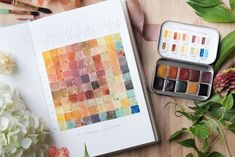 A Pair & A Spare | The Art of Making Watercolour Paints