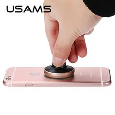 USAMS 360 Rotating Universal Car Magnetic Phone Holder Universal Air Vent Mount Car Magnet Holder Stand for iphone samsung