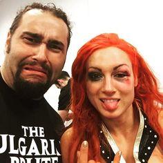 Becky Lynch & Rusev