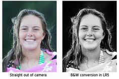 How to Convert an Image to Black & White in Lightroom 5