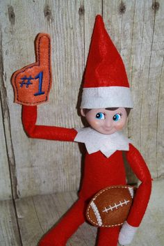 Elf On The Shelf Number One Fan
