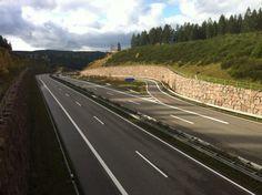 Autobahnausfahrt Suhl-Mitte