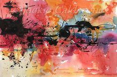Abstract Paintings Watercolor Paintings by JackieCalderoneArt