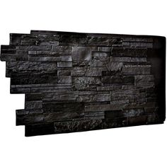 Ekena Millwork 1-1/2 in. x 48 in. x 25 in. Graphite Urethane Dry Stack Stone Wall Panel - PN201NRGP - The Home Depot