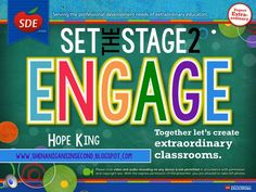 Alright, y'all! Here we go...week #3 of my Set the Stage to Engage series. Today is going to be a little different. I just had the...