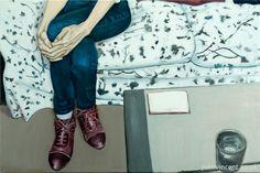 """The Invitation"", oil on canvas, 60x40cm, 2014"