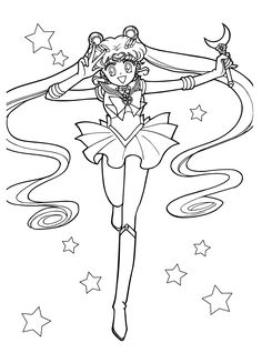 sailor moon coloring book pdf