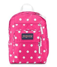 Znvora Jansport Student Backpack School Bag Fluorescent Pink Spots 39 99 Free
