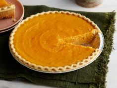 Millie Martin's Sweet Potato Pie from CookingChannelTV.com - never made sweet potato pie, but am going to try.