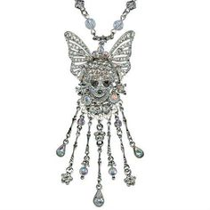 KIRKS FOLLY COUTURE SKULLDUGGERY SKULL NECKLACE