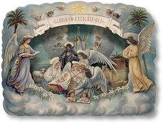 Glanzbilder - Victorian Die Cut - Victorian Scrap - Tube Victorienne - Glansbilleder - Plaatjes : Weihnachten speziell - christmas special - spéciale de Noël