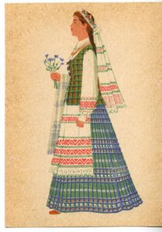 Vilnius Region Traditional Costume/ Lithuania. Yelling at History™