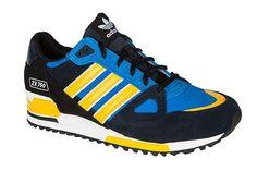 100% authentic 614df 21012 Zapatillas Adidas Originals ZX 750 Mujer Naranja Negro Azul Leyenda Tinta  Pájaro38ZViE 1