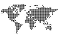 Global Map Vector