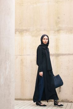 INAYAH   From work to play in these unconvetional items -  Black Long #Tshirt…