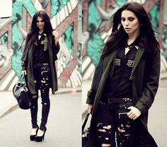 HAMBURG CITY ♥  (by Masha Sedgwick) http://lookbook.nu/look/4680649-HAMBURG-CITY-Shirt-Jacket