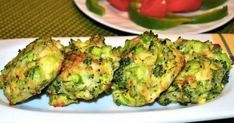 Cutlets from broccoli Sprouts, Zucchini, Vegan, Vegetables, Cookies, Fitness, Recipes, Food, Crack Crackers