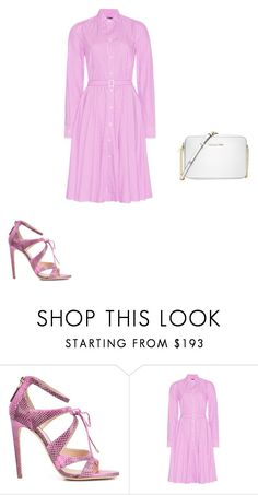 """""""Untitled #12974"""" by explorer-14576312872 ❤ liked on Polyvore featuring Chloe Gosselin, Polo Ralph Lauren and Michael Kors"""