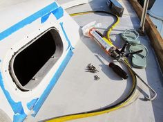 Rebedding the Opening Port Lights | Leaking Windows | Sailboat Refit verywellsalted.com