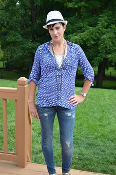 easy breezy summer shirts are a favorite of mine, they look great and easy to style