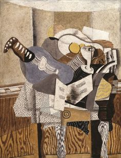 Georges Braque, Blue Mandolin, 1930. Collection of the Saint Louis Art Museum.