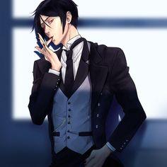 ♇ — that butler, a total dork 😂
