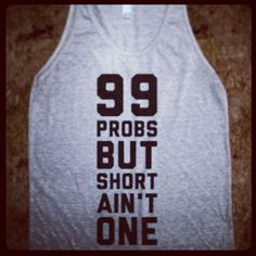 Love this! As a tall girl, I would so rock this! As a T-shirt though.